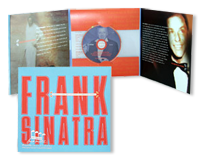 Frank Sinatra Invitation and Inserts with Sound Chip & CD-Rom